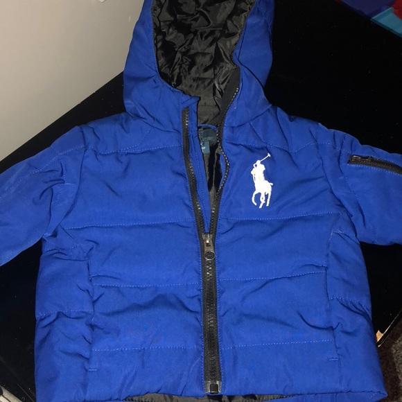 6c9d4b3604c1e Ralph Lauren infant winter jacket. M 5bf759ca4ab633139b210904
